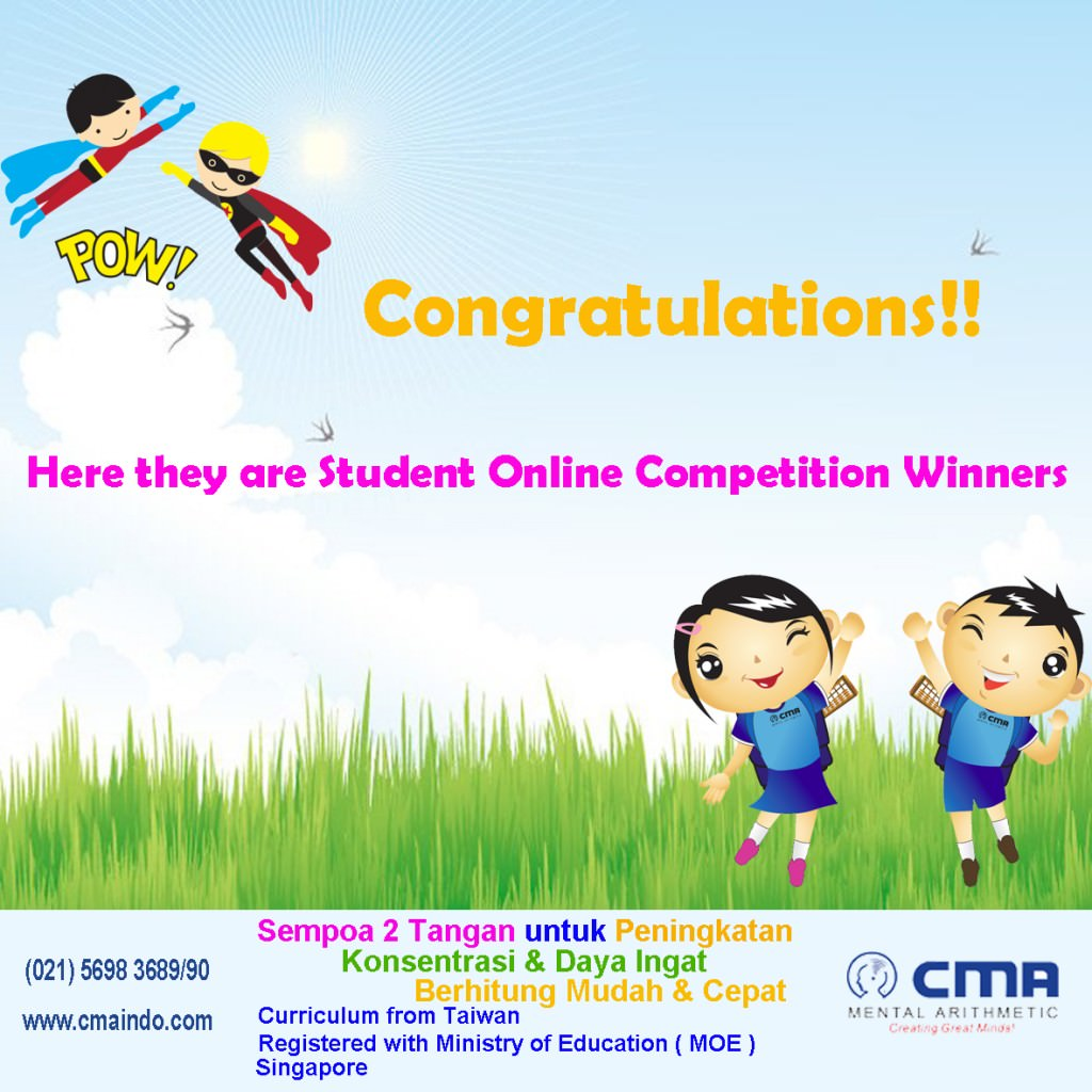 Student Online Competition Result